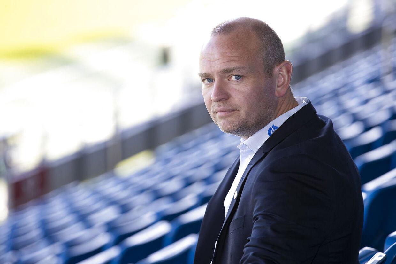Jimmi Nagel, billedet, er sportschef i Superliga-klubben Esbjerg fB.