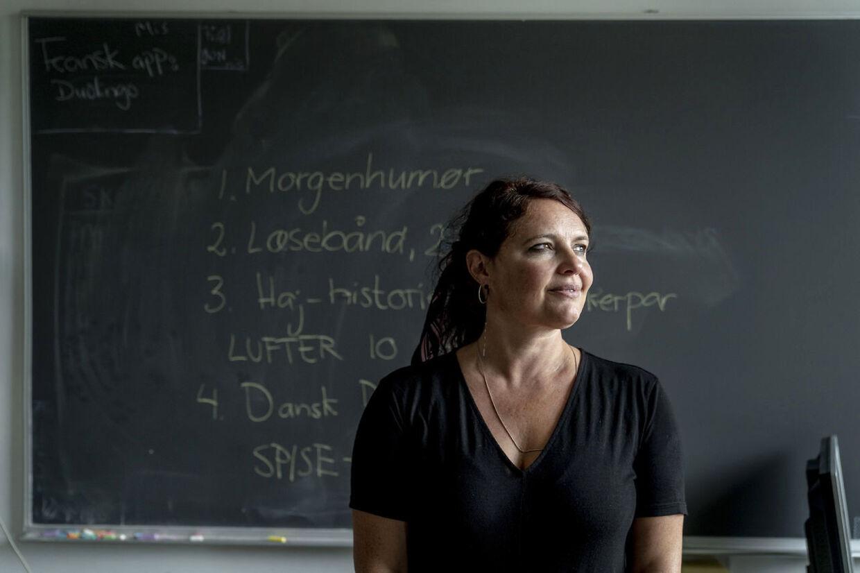 Signe Kløve Dreyer underviser blandt andet 7. klasse, og hun oplever, at der er otte-ni elever, der forstyrrer undervisningen og ødelægger det for klassens resterende 18 elever.