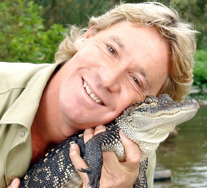 Steve Irwin blev kendt som krokodillejægeren fra Australien.