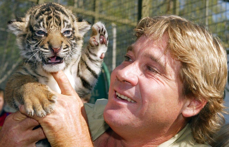 Steve Irwin var fan af stort set alle dyr.