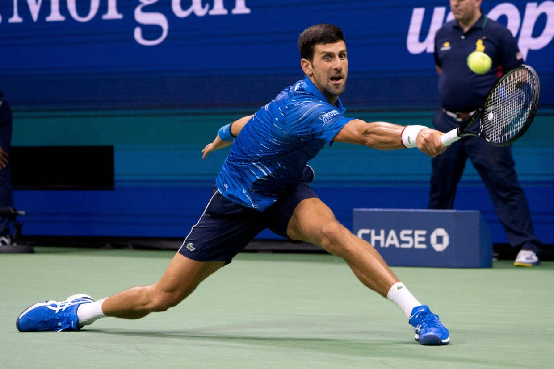 Novak Djokovic har ikke været i aktion siden US Open. Don Emmert/Ritzau Scanpix