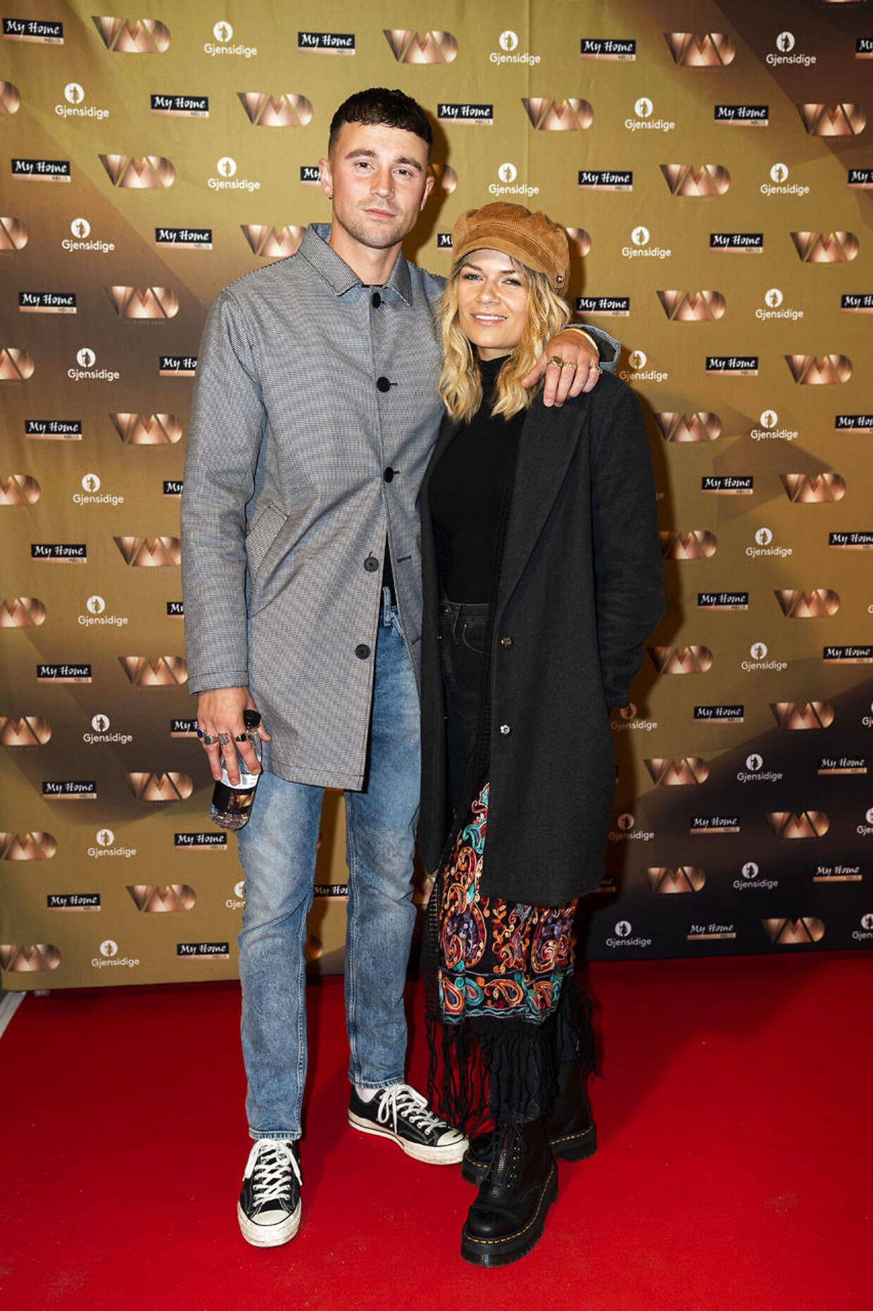 Rikke Gøransson og Tommy-Lee Winkworth til andet program af 16. sæson af 'Vild med dans'. (Foto: Martin Sylvest/Ritzau Scanpix)
