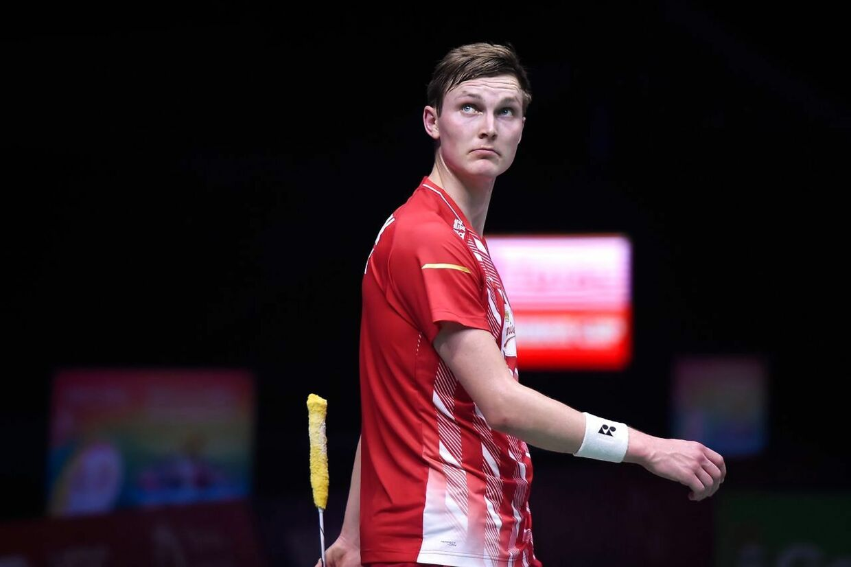 Den danske badmintonspiller Viktor Axelsen.