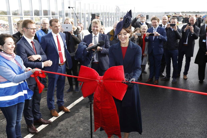 Den 28. september inviede Kronprinsesse Mary broen, der er opkaldt efter hende.