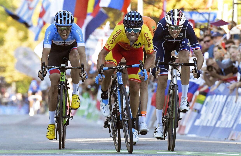 Spanske Alejandro Valverde er den regerende verdensmester.