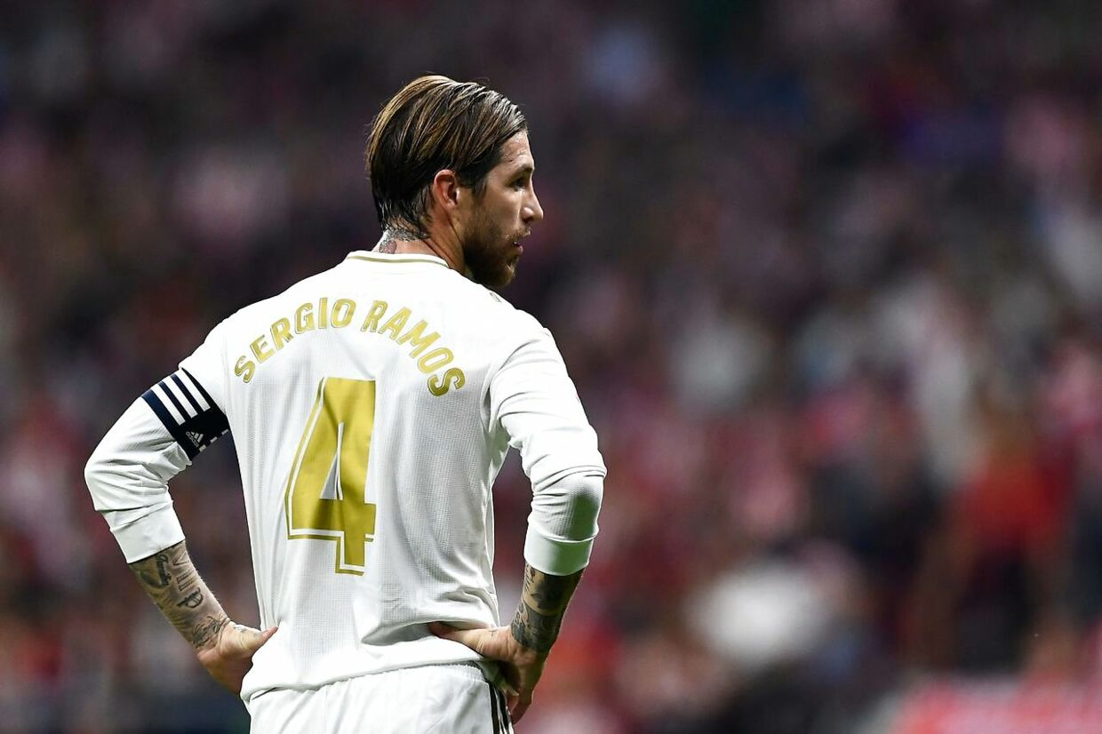 Sergio Ramos er anfører for Real Madrid.