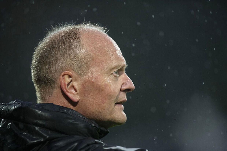 Brøndby IF's cheftræner Niels Frederiksen.
