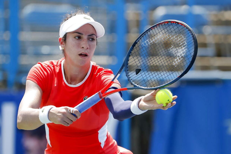Caroline Wozniacki skal møde amerikaneren Christina McHale, billedet, i anden runde ved China Open.