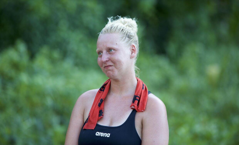 Robinson-deltageren Louise Guldberg.