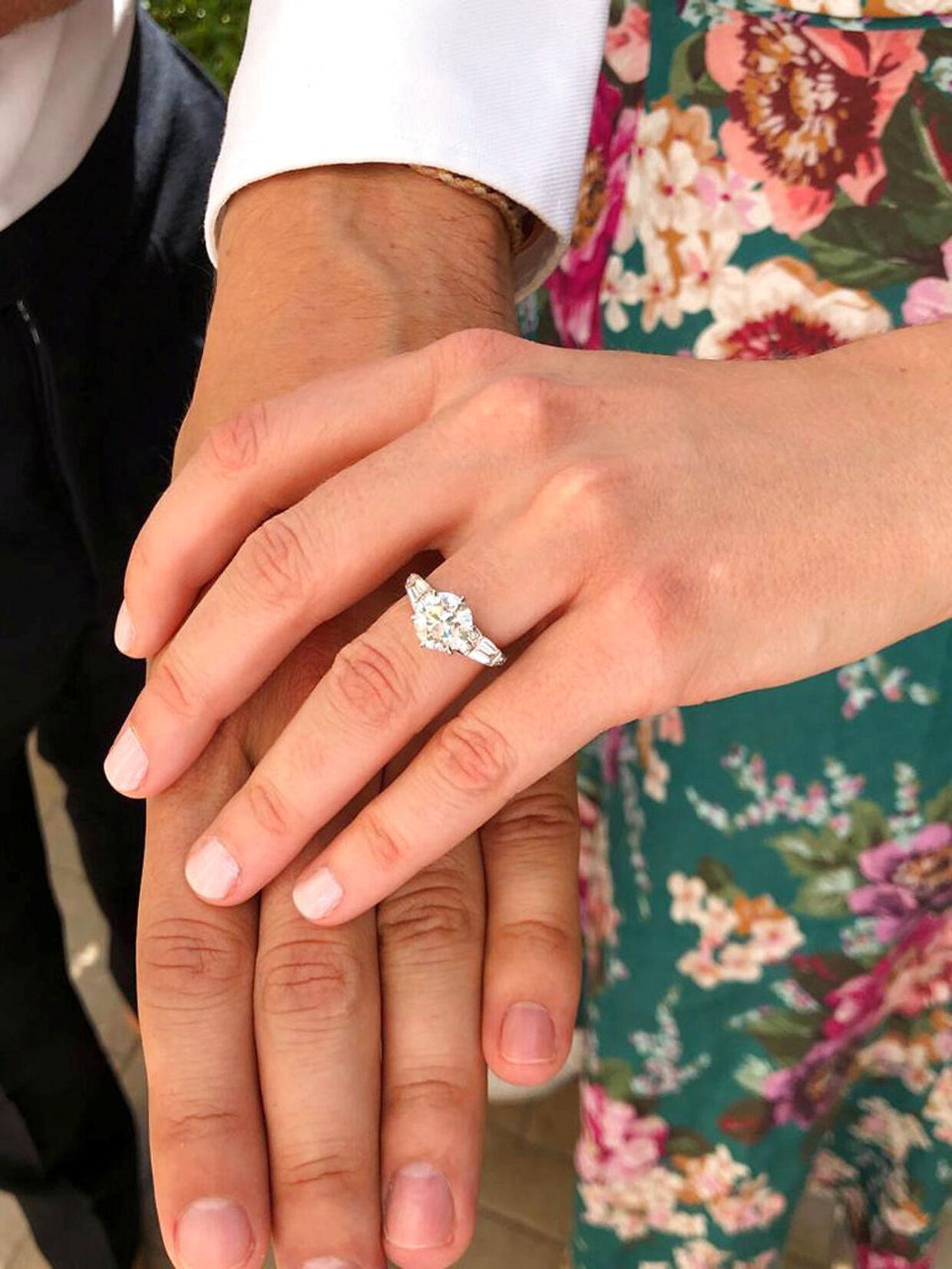 Det var denne ring, som det tog fire måneder at designe.