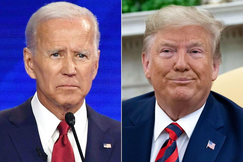 Lige nu er Joe Biden farvorit til at udfordre Donald Trump ved præsidentvalget næste år, men paradoksalt nok belastes også Biden af Demokraternes forsøg på at rejse en rigsretssag mod Trump. (Arkivfoto)