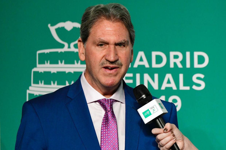 David Haggerty, billedet, er blevet genvalgt som formand for bestyrelsen i det Internationale Tennisforbund.