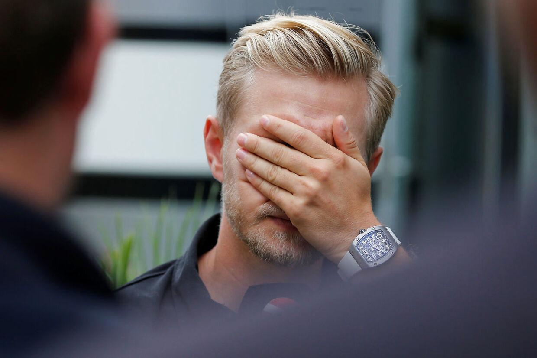 Kevin Magnussen scorede gode point til VM-kontoen, men han måtte også lige tage til takke med en straf på fem sekunder for en personlig fejl.