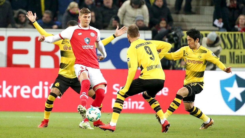 Emil Berggreen føler, at han selv mod Dortmund og Bayern München fik vist, at han er svær at håndtere for modstanderne.