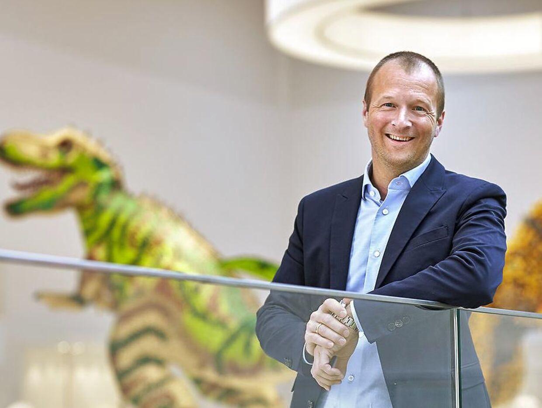 Thomas Kirk Kristiansen har brugt flere hundrede millioner på sin fynske golfbane.