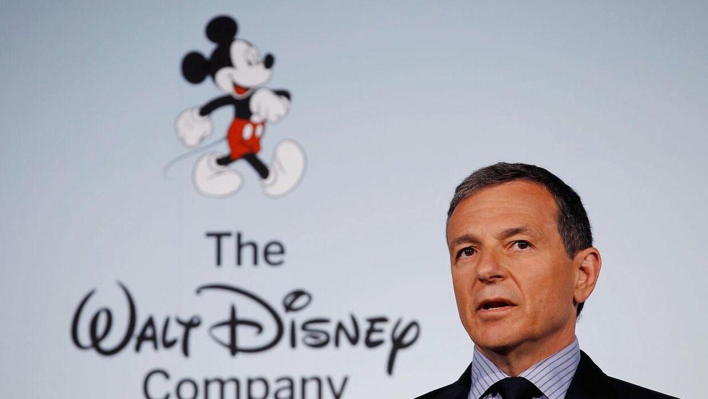 Bob Iger og Disney ejer blandt andet ABC, Touchstone Pictures og 80% af sportskanalen ESPN.