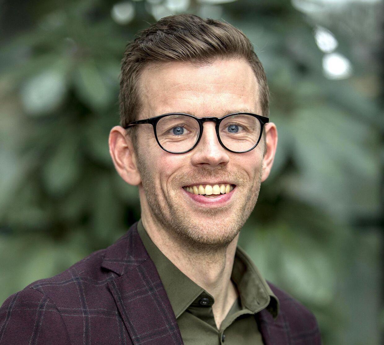 Rasmus Trangbæk er en af de nye deltagere i 'Den store bagedyst'