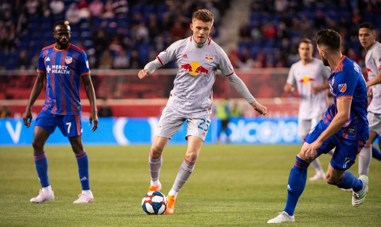 Mathias Jørgensen skiftede til New York Red Bulls i 2018.