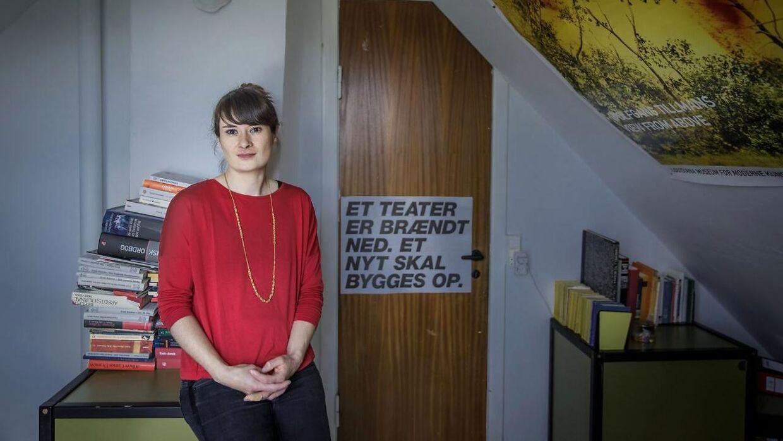 Skuespiller Xenia Noetzelmann. (Foto: Scanpix)