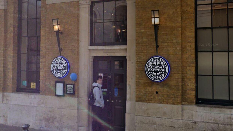 Pizza Express i London.