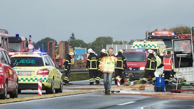 Ulykkerne er sket i mere eller mindre hele landet.