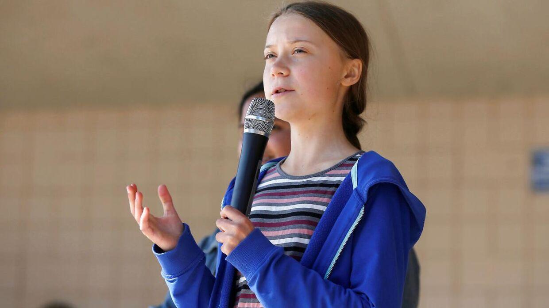 Greta Thunberg er blevet ansigtet på den globale klimakamp. (Foto: Scanpix)