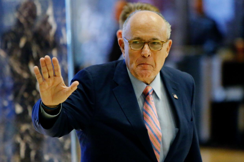 Rudy Giuliani vil gerne samarbejde med republikanerne i Senatet, men ikke med demokraterne i Repræsentanternes Hus. (Arkivfoto) Eduardo Munoz Alvarez/Ritzau Scanpix