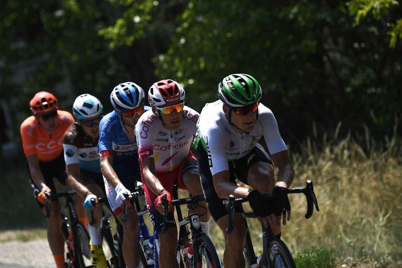 Lars Bak under årets udgave af Tour de France.