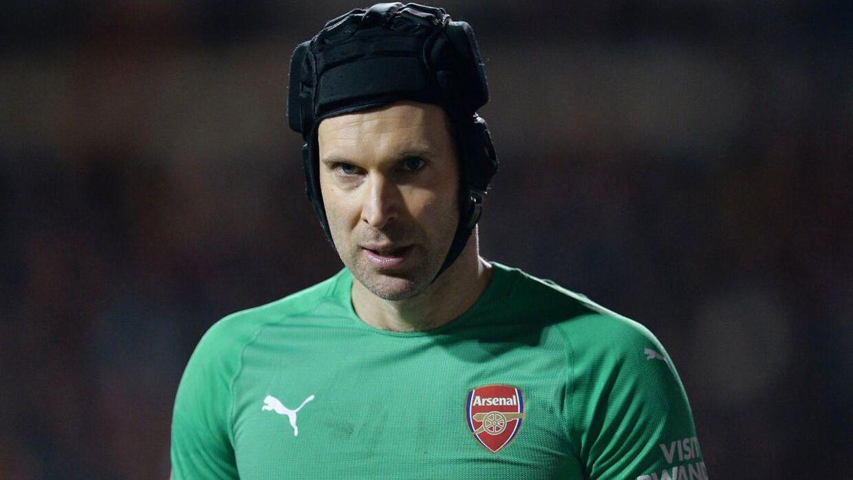 Sådan kender de fleste nok Peter Cech.