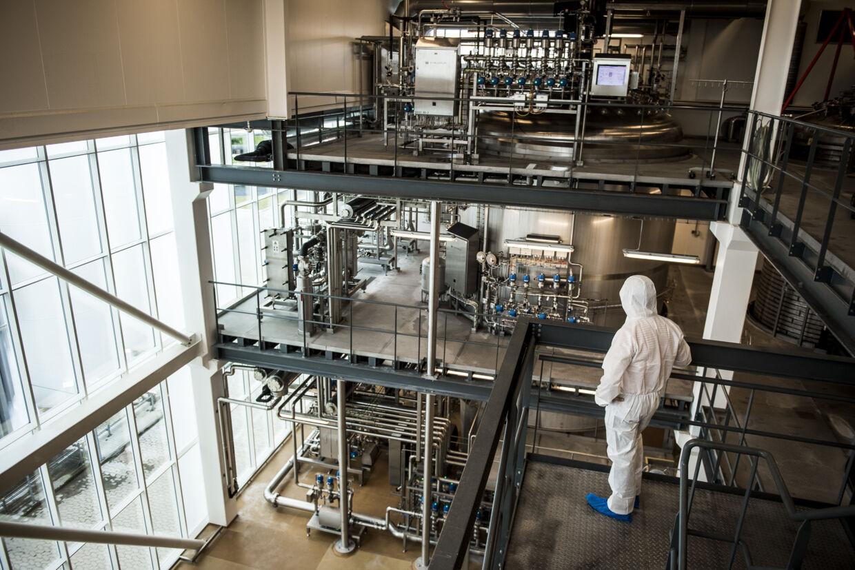 Chr. Hansen er verdens største producent af ingredienser til mejeriprodukter og fødevarer. (Arkivfoto) Asger Ladefoged/Ritzau Scanpix
