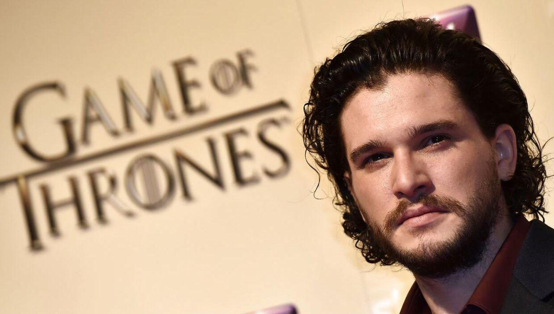 Kit Harrington spiller rollen som John Snow i den verdenskendte serie Game of Thrones.