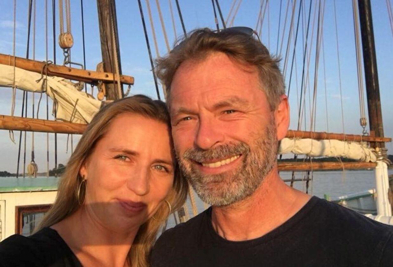 Mette Frederiksen og kæresten, Bo Tengberg.