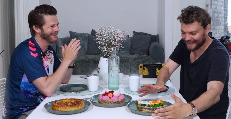 Pilou Asbæk og Thomas Bense.