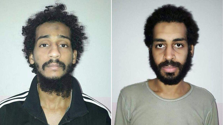 ARKIVFOTO af Alexanda Kotey (til højre) og El Shafee Elsheikh.