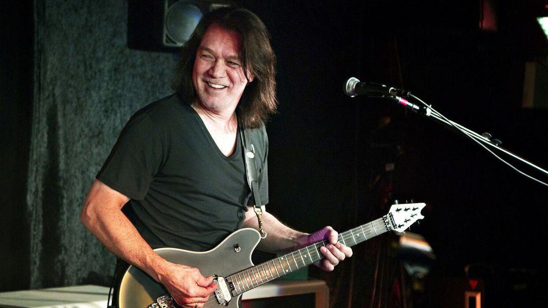 Guitarist Eddie Van Halen.