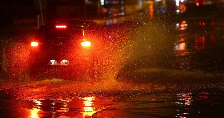 Massive vandmængder på vejene i København og Storkøbenhavn.