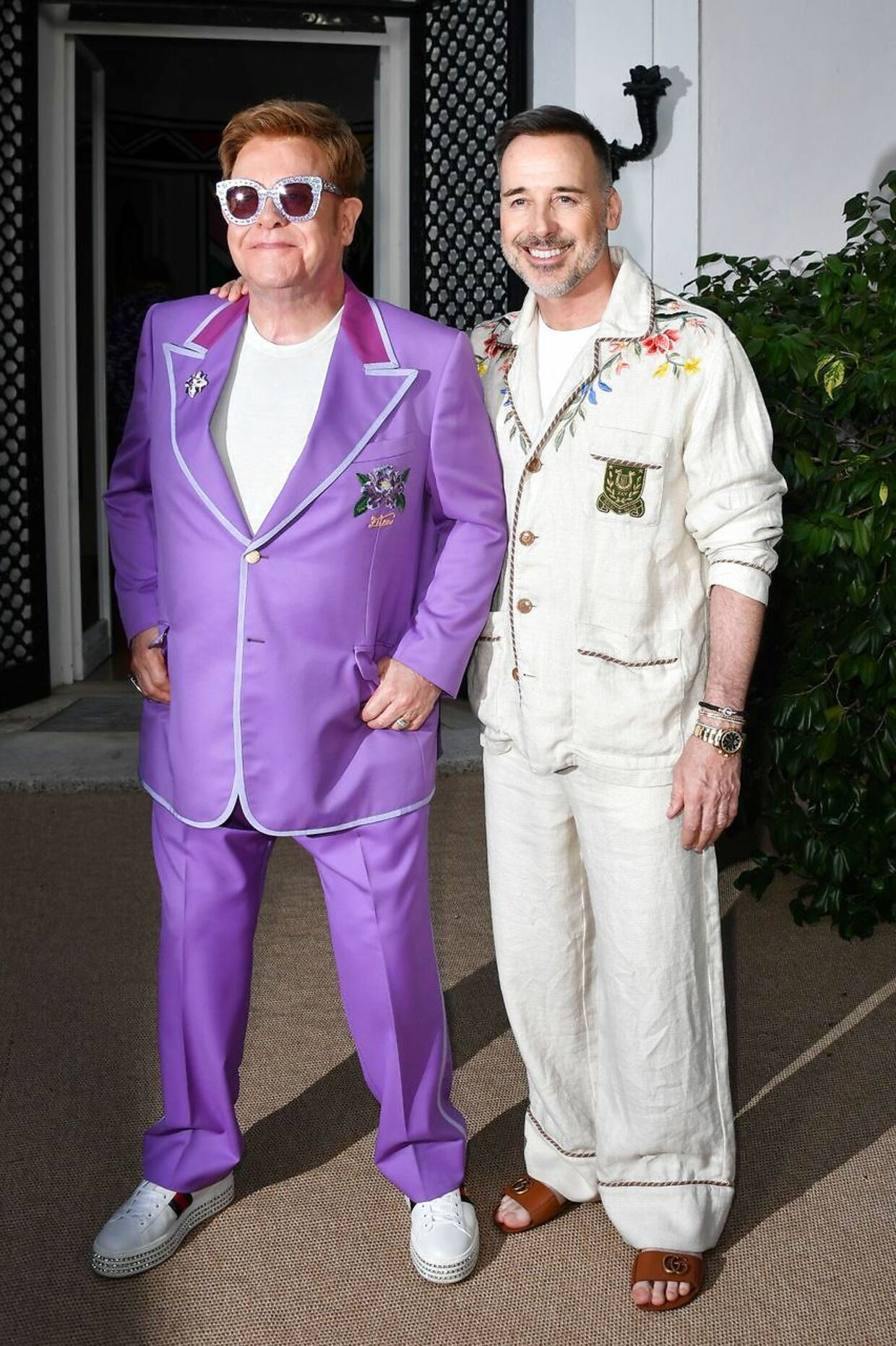 Elton John og hans mand, David Furnish.