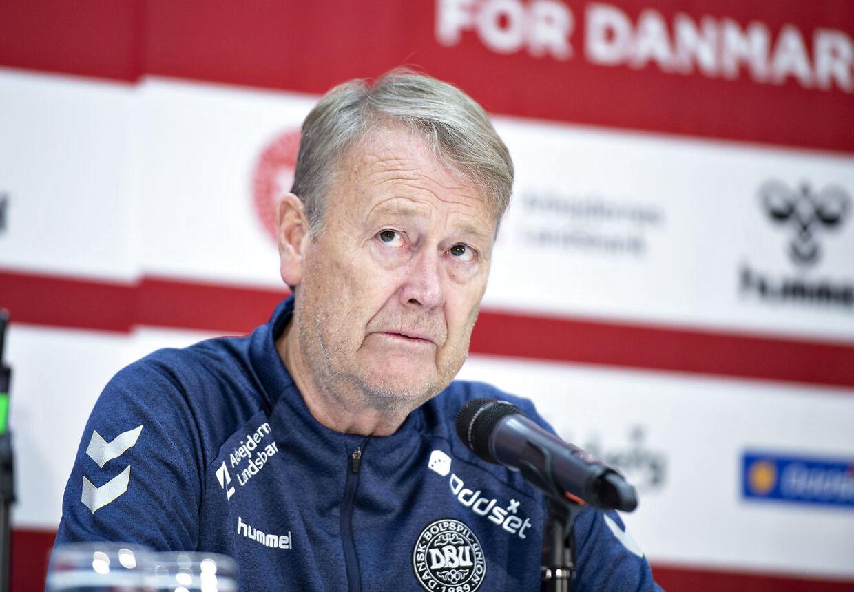 Åge Hareide førte den danske landshold frem til en sejr på 4-0 i venskabslandskampen mod Luxembourg.