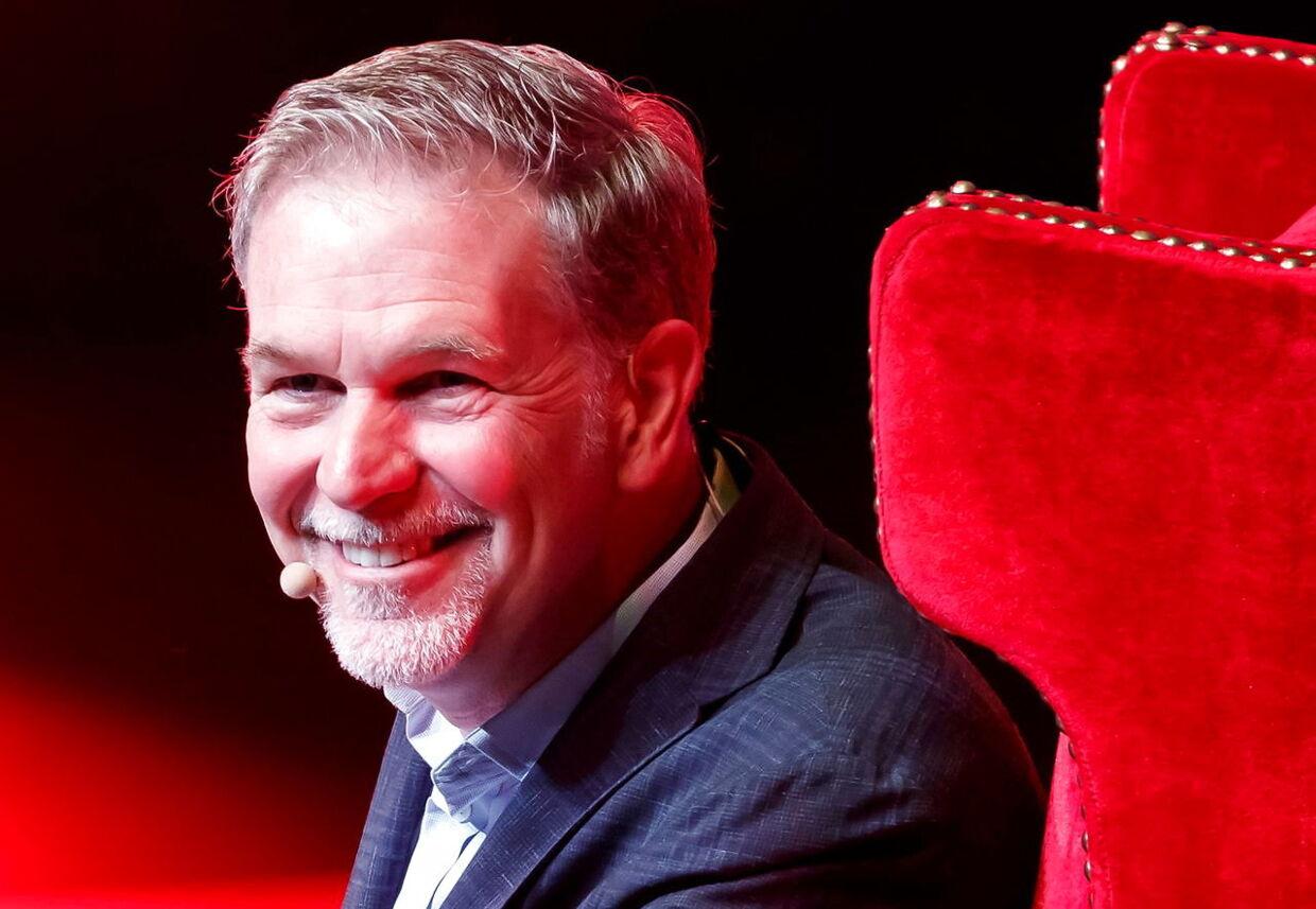 Reed Hastings ryster ikke ligefrem i bukserne over konkurrencen fra Apple og Disney.