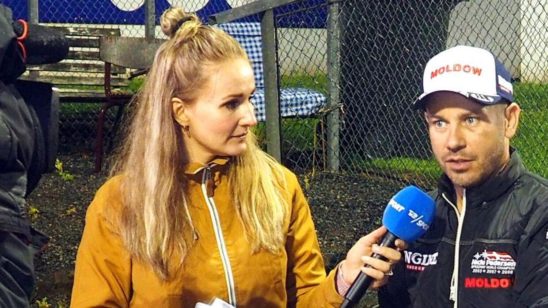 Stine Bjerre Mortensen arbejder til daglig som vært på TV 2 Sport.