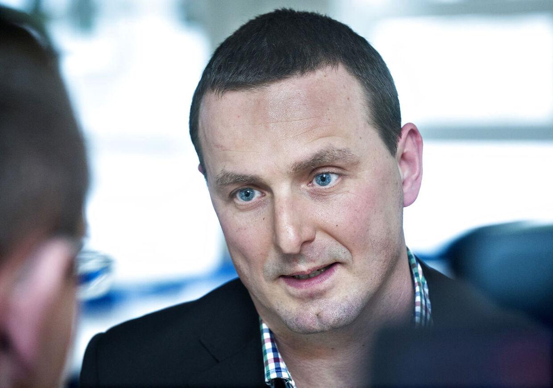 Henrik Kjær Jensen, sikkerhedschef i DBU.