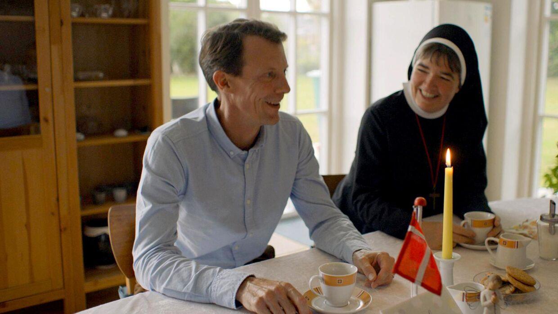 Billede fra dokumentaren med prins Joachim.