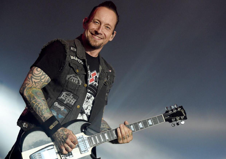 Michael Poulsen, forsanger i Volbeat.