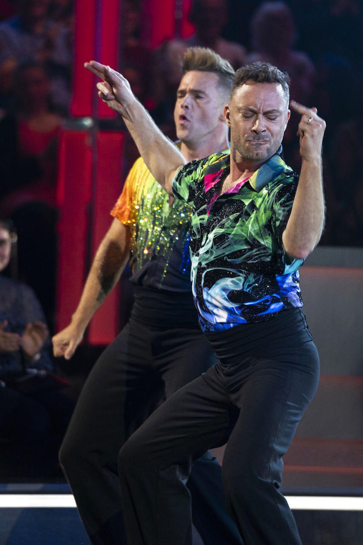 Skuespiller og instruktør Jakob Fauerby og danseren Silas Holst er ifølge bookmakerne et af favoritparrene til at vinde 'Vild med dans'-
