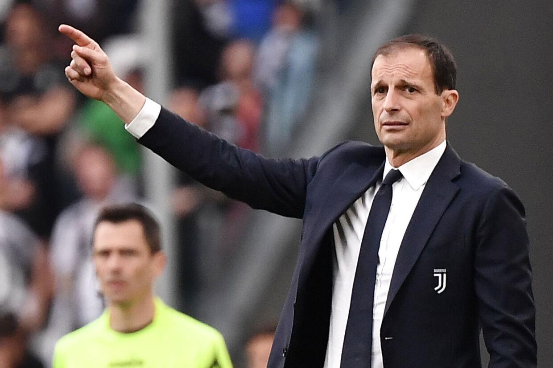 Massimiliano Allegri nåede at være træner i Juventus i knap fem år.