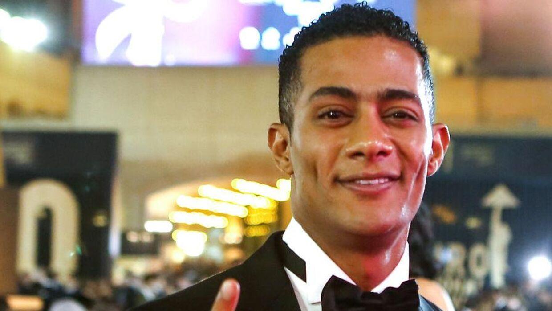 Den egyptiske skuespiller Mohamed Ramadan