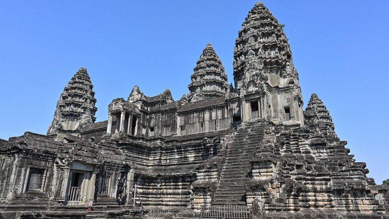 Angkor Wat templet.