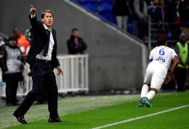 Rudi Garcia er ny cheftræner i Lyon.