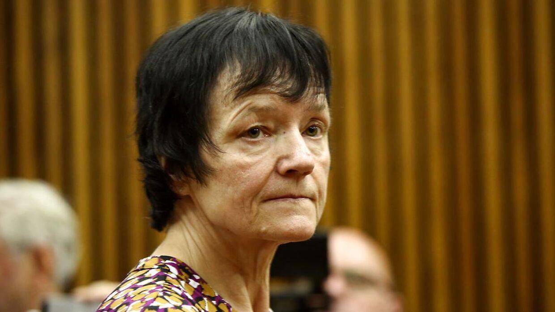 Arkiv. Anna Britta Troelsgaard Nielsen er her for retten i Johannesburg i Sydafrika.