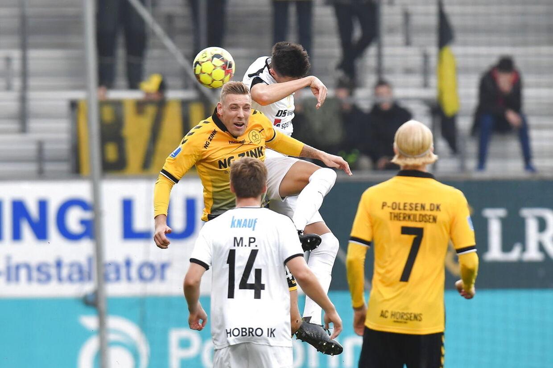 AC Horsens - Hobro IK. 3F superligaen I fodbold på Casa Arena Horsens søndag 20 oktober 2019.